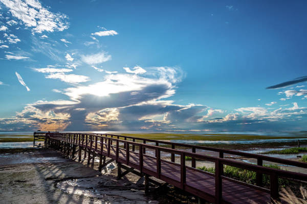 Photograph - Crystal Beach Pier by Joe Leone