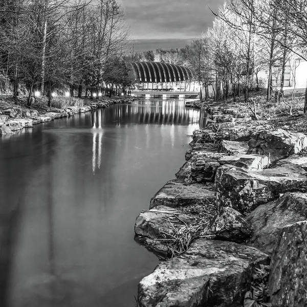 Photograph - Crystal Bridges Infrared Night At The Museum - Arkansas by Gregory Ballos
