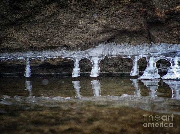 Photograph - Crystal Colonnade by Karen Adams