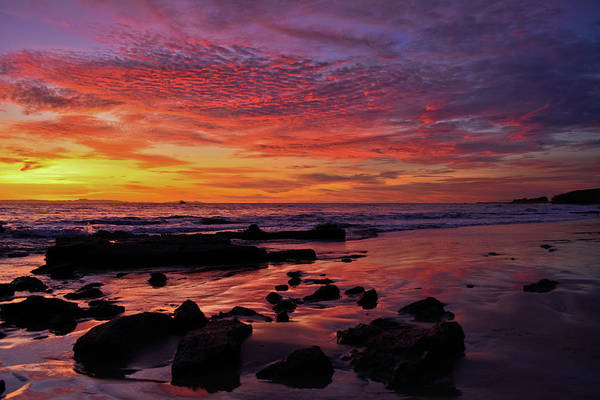 Photograph - Crystal Cove Newport Beach Sunset by Kyle Hanson