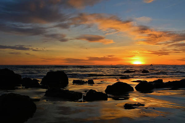 Photograph - Crystal Cove State Park Sunset by Kyle Hanson
