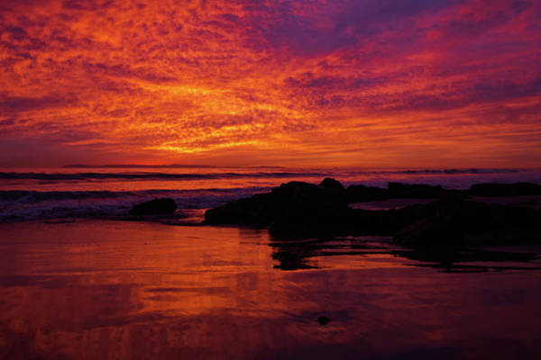 Photograph - Crystal Cove Sunset Newport Beach by Kyle Hanson