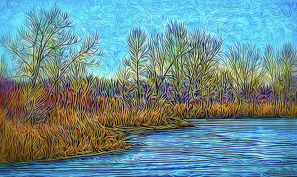 Digital Art - Crystal Lake Mood by Joel Bruce Wallach
