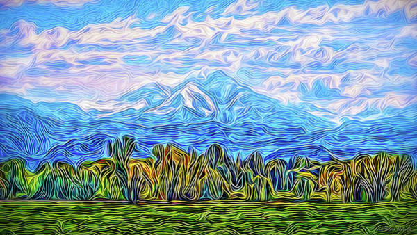 Digital Art - Crystal Mountain Clarity by Joel Bruce Wallach