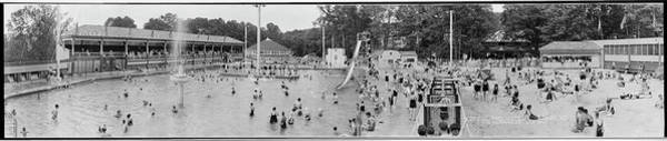 Wall Art - Photograph - Crystal Pool, Glen Echo Park, Maryland by Fred Schutz Collection