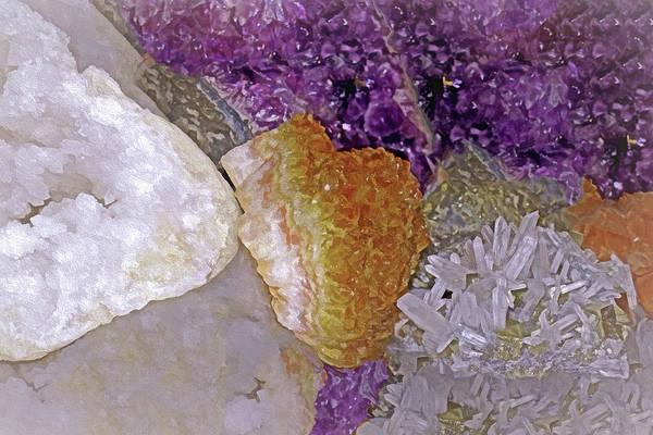 Mixed Media - Crystal Stand 14  by Lynda Lehmann
