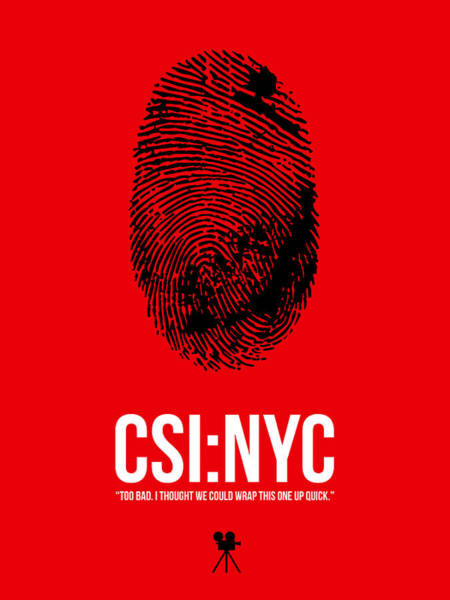 Wall Art - Digital Art - Csi Nyc by Naxart Studio