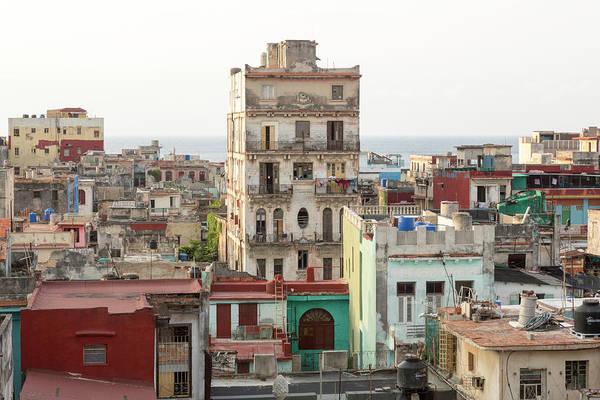 Wall Art - Photograph - Cuba, Havana Building Overviews by Jaynes Gallery