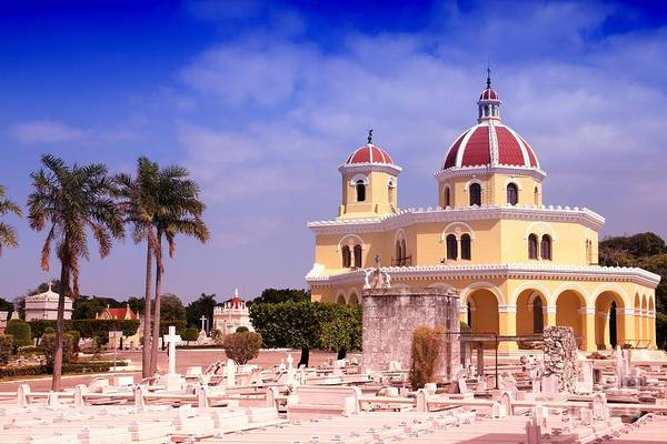 Cuba - The Main Cemetery Of Havana Art Print