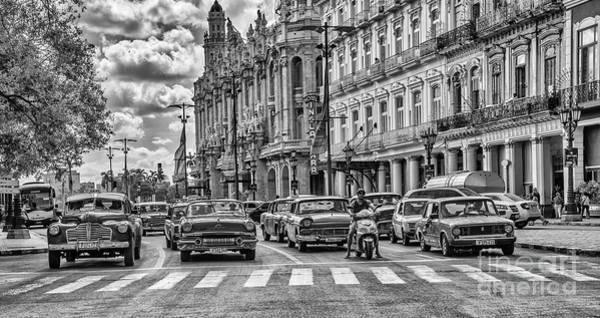 Pyrography - Cuba Traffic by Mauro Celotti