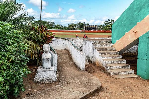 Photograph - Cuban Baseball Field by Sharon Popek