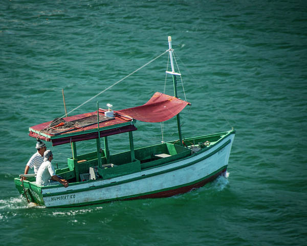 Photograph - Cuban Boat by Laura Hedien