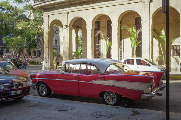 Photograph - Cuban Chevy Bel Air by Mark Duehmig