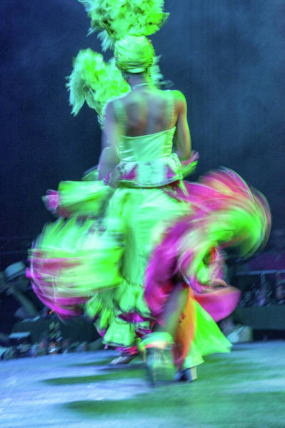 Tropicana Club Photograph - Cuban Dancer In Motion 1 by Alexander McAllan