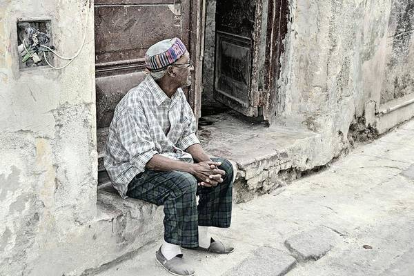 Wall Art - Photograph - Cuban Gentleman In Quiet Reflection by Toni Abdnour