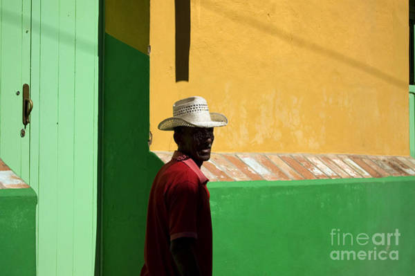 Wall Art - Photograph - Cuban Man On The Beach by Danijel Ljusic