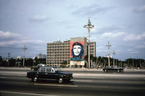 Wall Art - Photograph - Cuban Ministry Of The Interior Building by Fred W. McDarrah