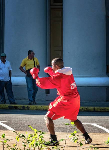 Photograph - Cuban Street Boxer by Tom Singleton
