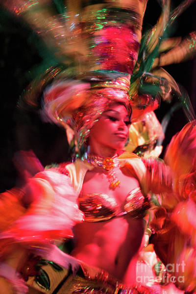 Tropicana Club Photograph - Cuban Tropicana Dancer II by Alexander McAllan