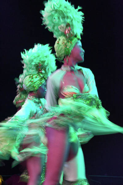 Tropicana Club Photograph - Cuban Tropicana Dancer In Motion II by Alexander McAllan