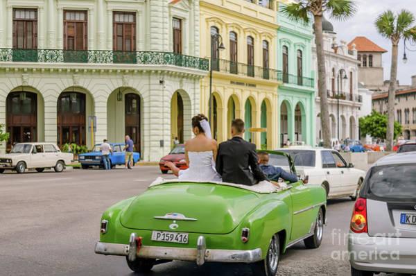 Wall Art - Photograph - Cuban Wedding by Viktor Birkus