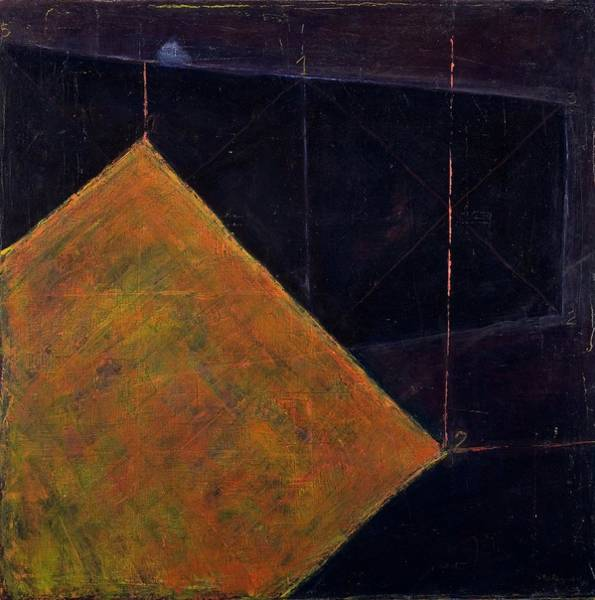 Painting - Cube Abs 5, 1999 Acrylic On Canvas by Stella Salazar
