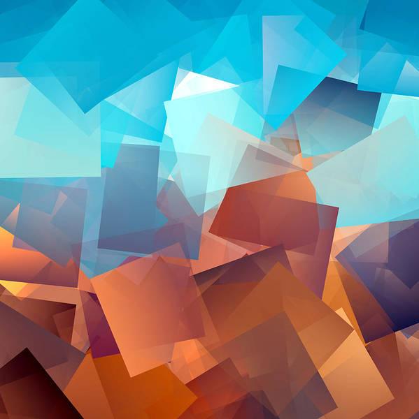 Wall Art - Digital Art - Cubism Abstract 177 by Chris Butler