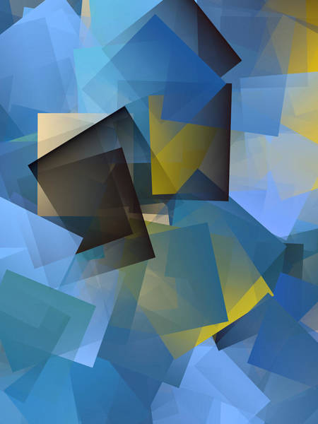 Wall Art - Digital Art - Cubism Abstract 186 by Chris Butler