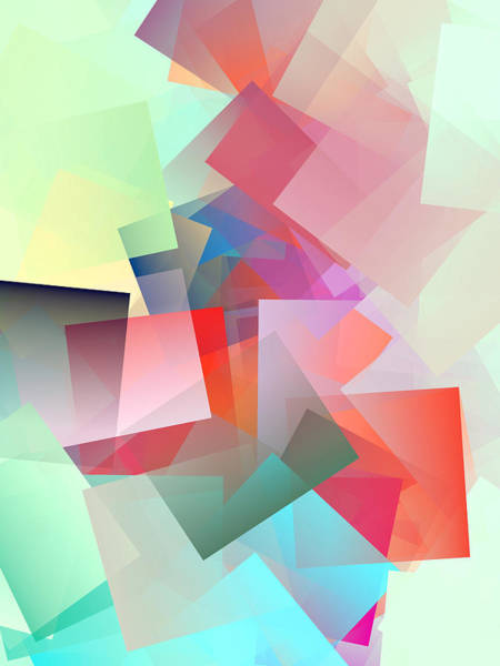 Wall Art - Digital Art - Cubism Abstract 187 by Chris Butler