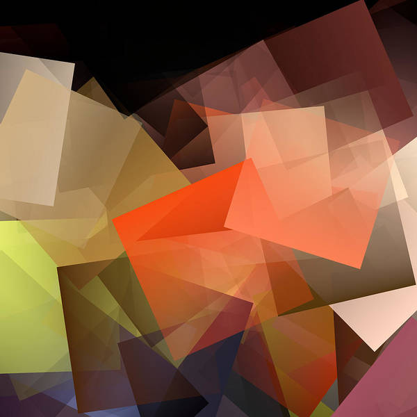 Wall Art - Digital Art - Cubism Abstract 195 by Chris Butler