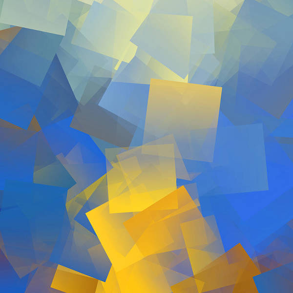 Wall Art - Digital Art - Cubism Abstract 198 by Chris Butler