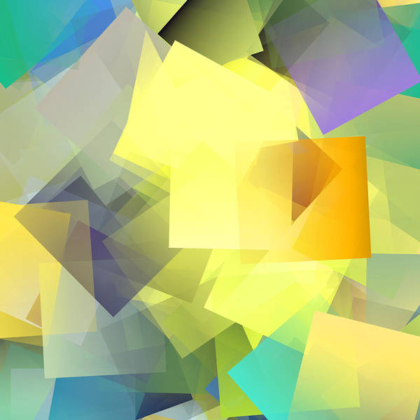 Wall Art - Digital Art - Cubism Abstract 201 by Chris Butler