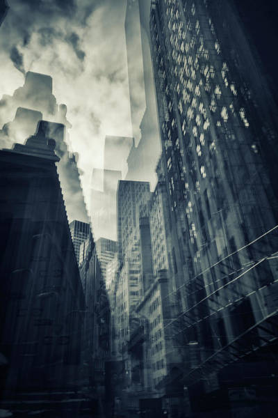 Lower Manhattan Photograph - Cubist Wallstreet by Photo By.ignacio Ayestaran