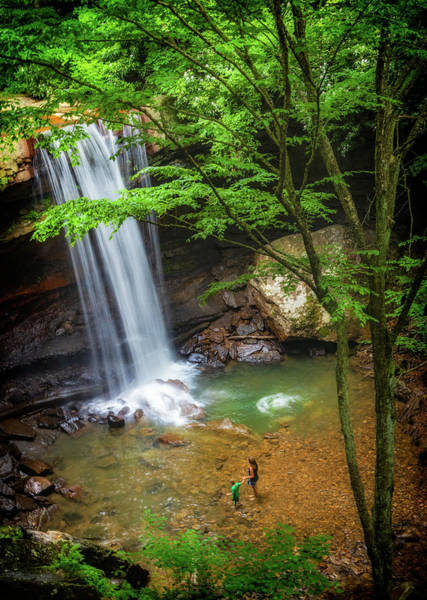 Photograph - Cucumber Falls In Ohiopyle State Park by Carolyn Derstine