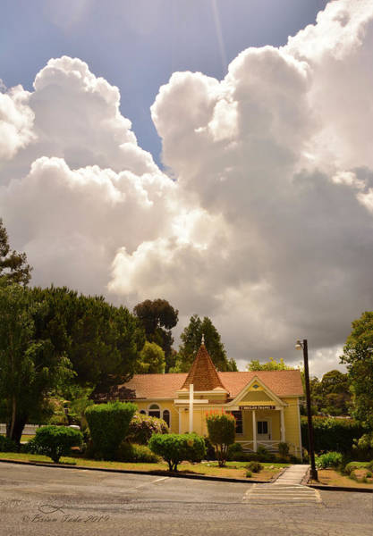 Wall Art - Photograph - Majestic Clouds Above Beulah Chapel by Brian Tada
