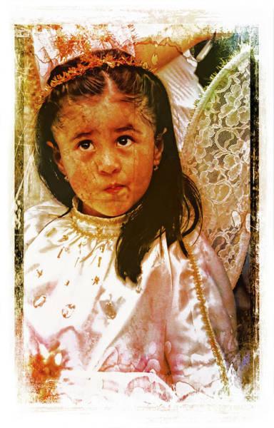 Wall Art - Photograph - Cuenca Kids 1200 by Al Bourassa