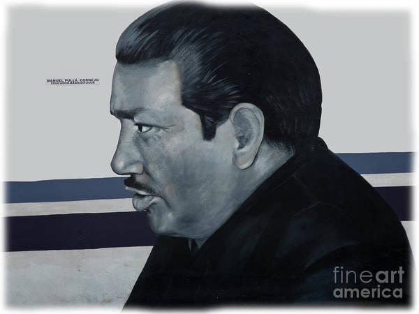 Wall Art - Photograph - Cuenca Murals - Manuel Pulla Cornejo by Al Bourassa