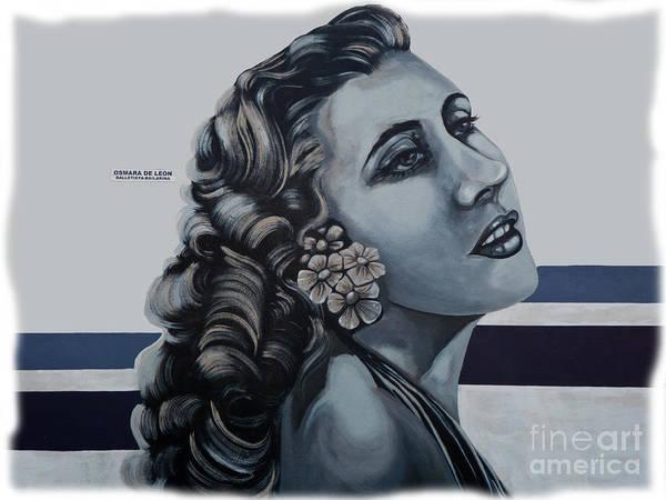 Wall Art - Photograph - Cuenca Murals - Osmara De Leon by Al Bourassa