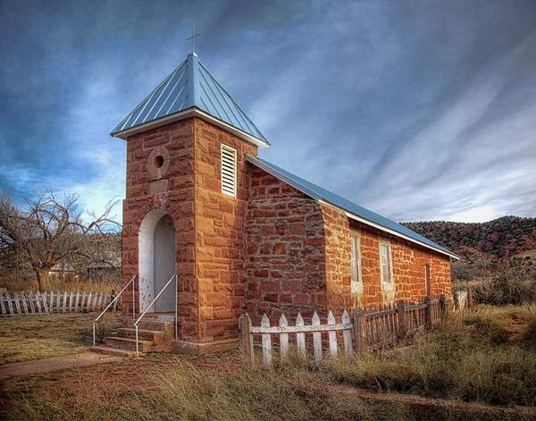 Photograph - Cuervo New Mexico Ghost Town  by Harriet Feagin