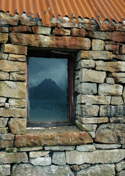 Photograph - Cuillin Reflection by Dave Bowman