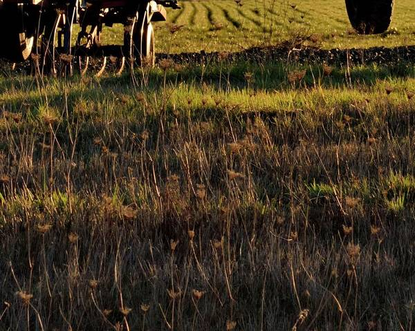 Photograph - Cultivator Winter Rest by Jerry Sodorff