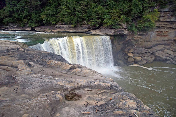 Photograph - Cumberland Falls In The Evening by Mike Murdock