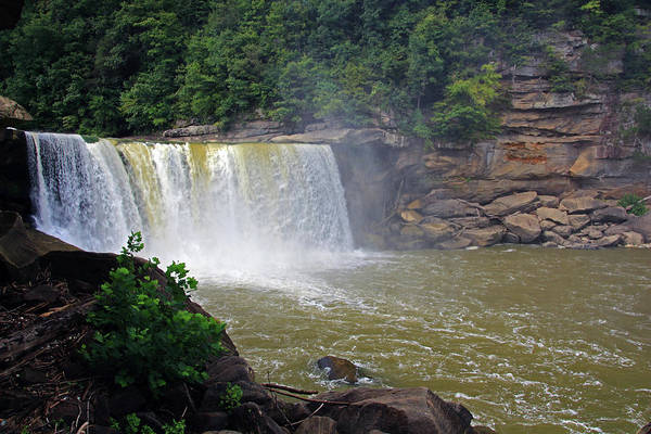 Photograph - Cumberland Falls Kentucky by Angela Murdock