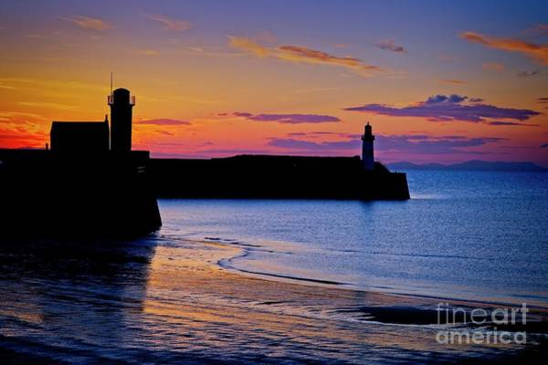 Photograph - Cumbrian Sunset At Whitehaven by Martyn Arnold
