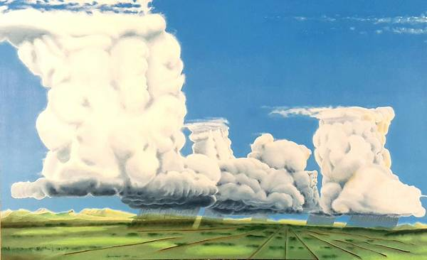 Painting - Cumulonimbus Party by Dave Martsolf