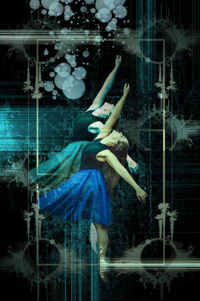 Digital Art - Cunha Ballet Dancer Transformation by Robert G  Kernodle