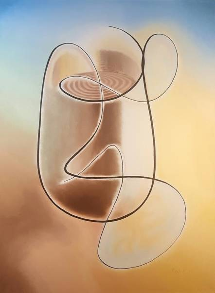 Painting - Cup-a-joe by Dave Martsolf