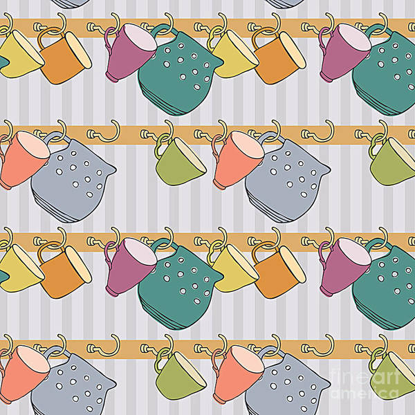 Cookie Wall Art - Digital Art - Cup Background by Nenilkime