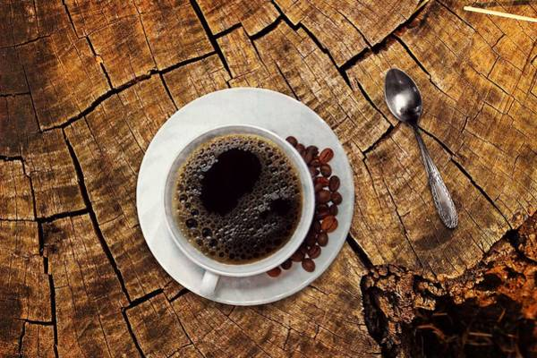 Photograph - Cup Of Coffe On Wood by Top Wallpapers