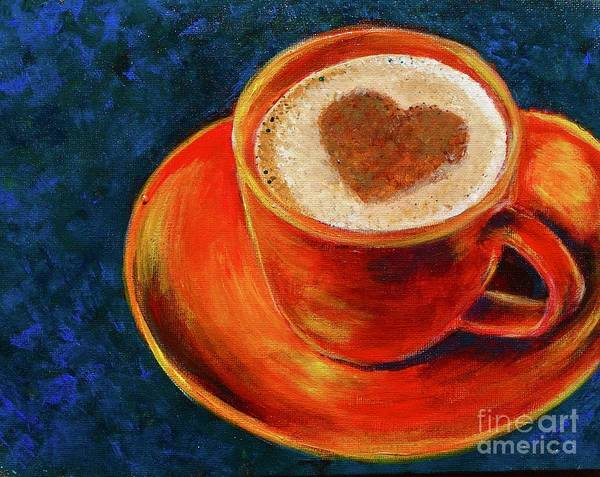 Painting - Cup Of Coffee by Jacqueline Athmann